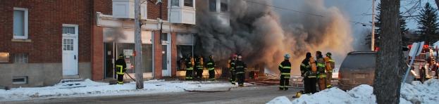 SÉCURITÉ - Incendie et police