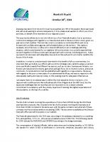 Warden's Report 2014