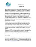 Rapport du préfet – 2014